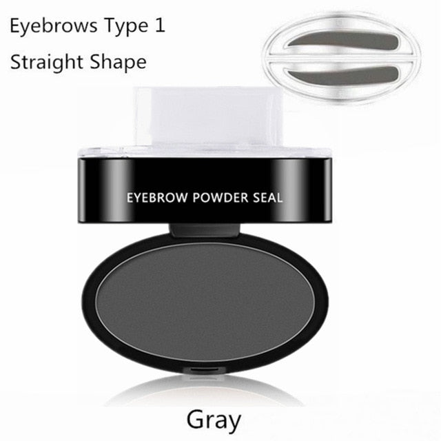Professional Waterproof Eyebrow Stamps + FREE Straight Handle