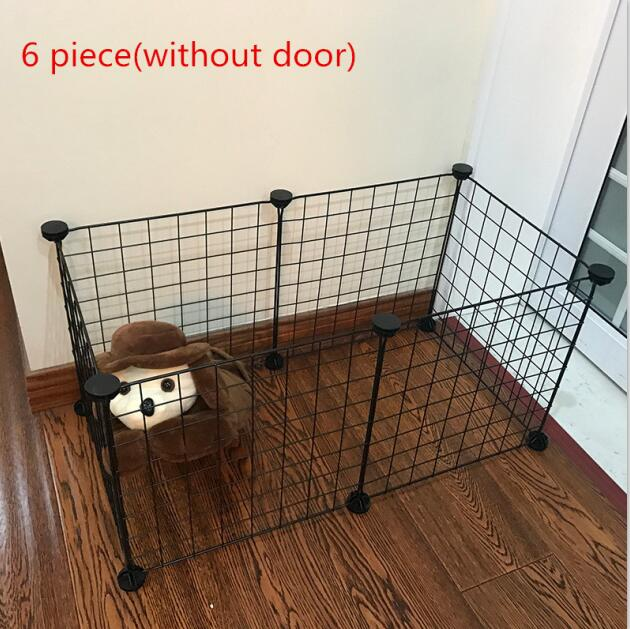 Foldable Pet Playpen Crate Iron Fence Kennel House  for Puppy