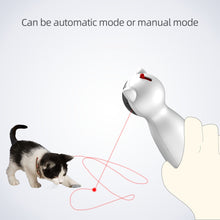 Load image into Gallery viewer, LED Laser Funny Auto Rotating Exercise Training Entertaining Cat Toy
