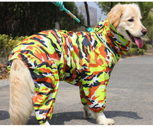 Load image into Gallery viewer, Waterproof Windproof Raincoat Jumpsuit For Big Medium Small Dogs