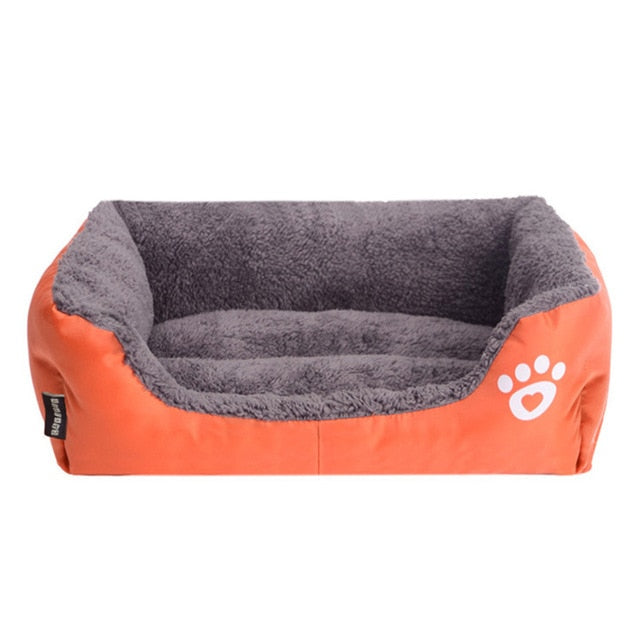 Waterproof Bottom Soft Fleece Sofa Pet Bed Mat