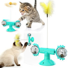 Load image into Gallery viewer, Cat Funny Turntable Teasing Interactive Toy