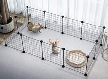 Load image into Gallery viewer, Foldable Pet Playpen Crate Iron Fence Kennel House  for Puppy