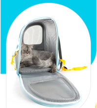 Load image into Gallery viewer, Transparent Travel Carrying Pet Cat Carrier Backpack