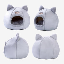 Load image into Gallery viewer, Foldable, Removable & Comfortable Warm Bed for Cats Pet Puppy & Little Dogs Indoor Tent