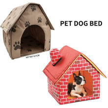 Load image into Gallery viewer, Portable Foldable House Tent for Pet Cat or Puppy