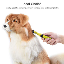 Load image into Gallery viewer, Safe Dematting Double Sided Pet Hair Brush Grooming Shedding Hair Tangles Removal Comb