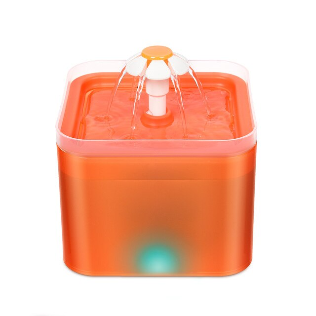 LED Display Pet Water Fountain