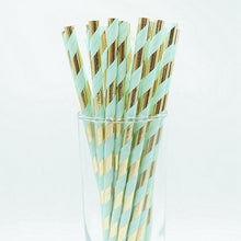 Load image into Gallery viewer, Drinking Paper Straws