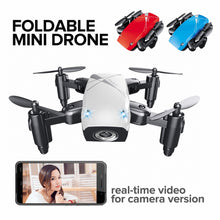 Load image into Gallery viewer, Mini Foldable Pocket Drone