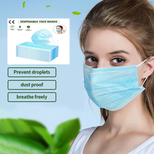 Load image into Gallery viewer, 10 X Face Mask Dust Flu Free Hygienic Protection