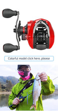Load image into Gallery viewer, Carbon Baitcasting Fishing Reel