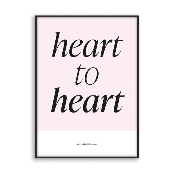 Heart to heart - Poster