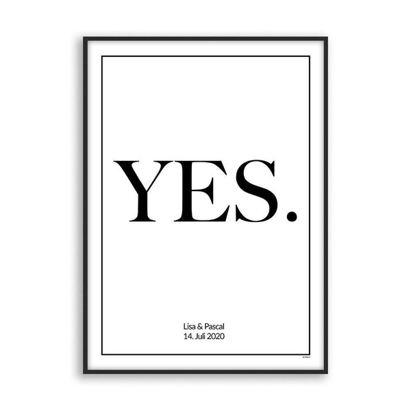 Yes I will - Poster - Cosico
