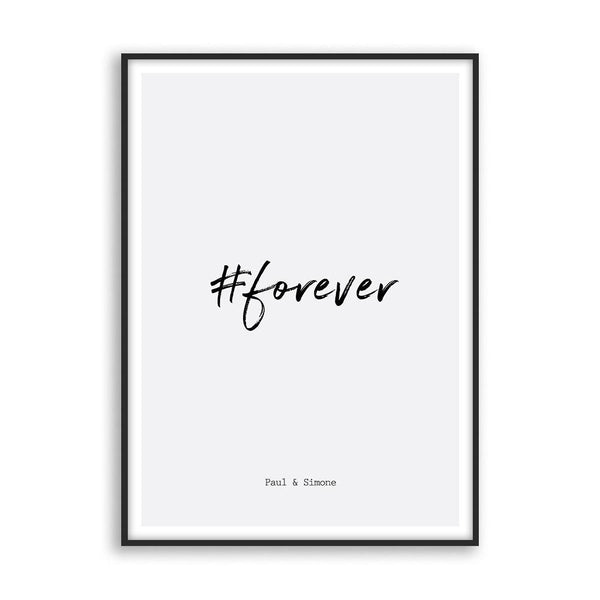 Hashtag love - Poster