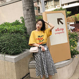 Fashion Women Yellow T Shirt
