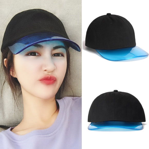 Colorful Transparent Baseball Cap