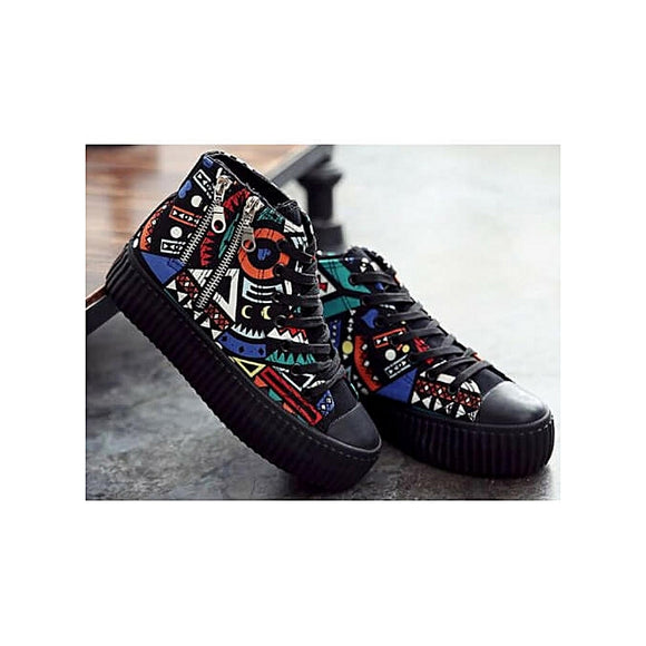 Fashion Female Afrik Ankle Trainers