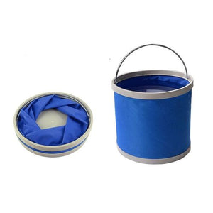 Foldable Bucket Blue