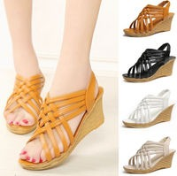 Webbed Wedge - White