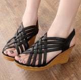Webbed Wedge - Black