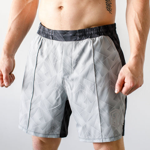 Training Shorts (Geometric Grey)