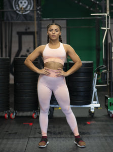 Motus Seamless M Legging - Pink Orange