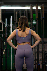 Motus Seamless Y Leggings - Dark Purple