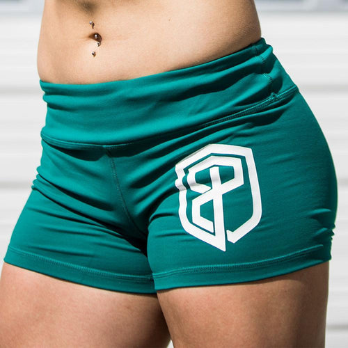 Renewed Vigor Booty Shorts (Emerald)