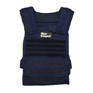 Bear KompleX Training Plate Carrier Vest (Navy Blue)