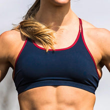 Load image into Gallery viewer, Warrior Sport Bra (Navy Blue)