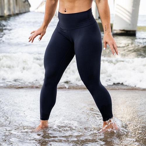 Your Go To Leggings (Navy Blue)