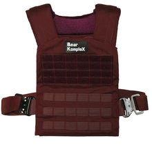 Load image into Gallery viewer, Bear KompleX Training Plate Carrier Vest (Maroon)