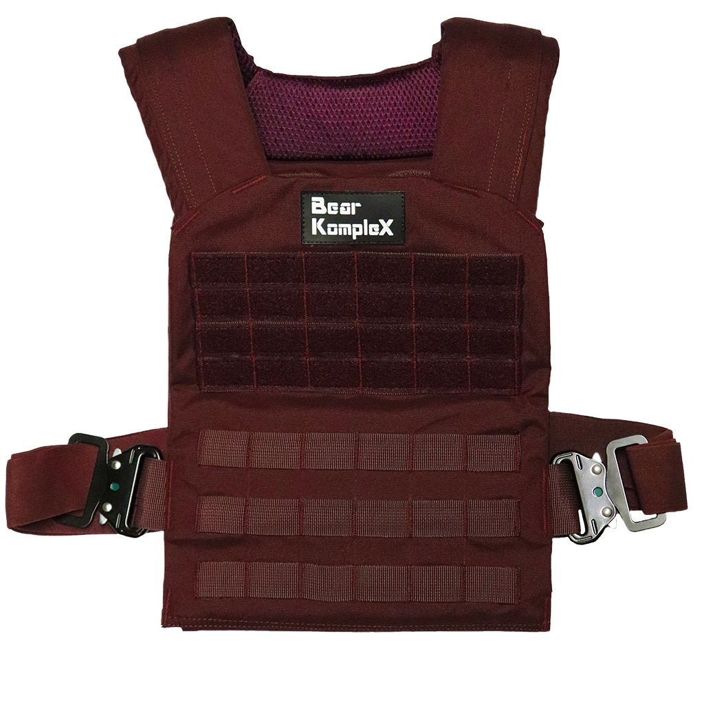 Bear KompleX Training Plate Carrier Vest (Maroon)