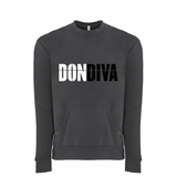 Don Diva Logo Front Pocket Sweatshirt (Unisex)