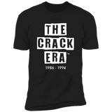 The Crack Era Short Sleeve T-Shirt Black/Small FINAL SALE
