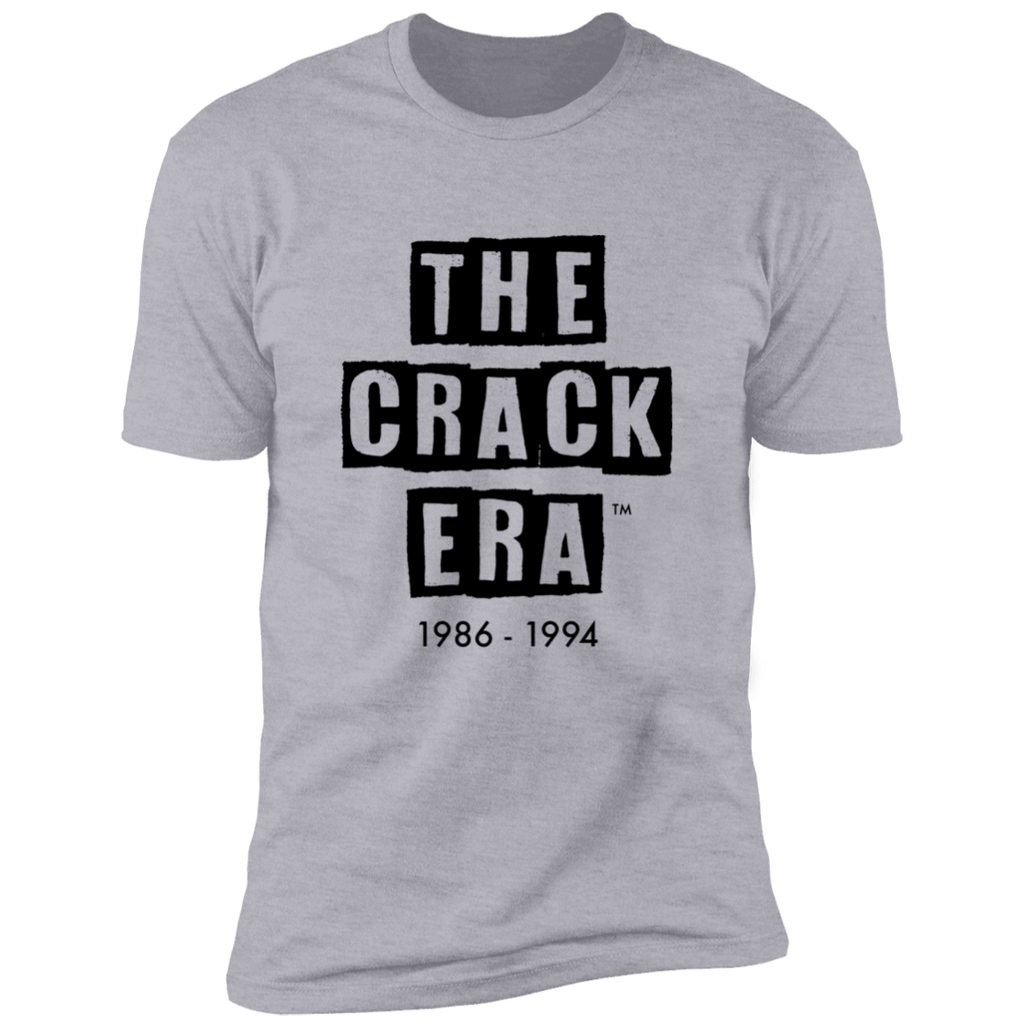 The Crack Era T-Shirt (men's) Gray/Black