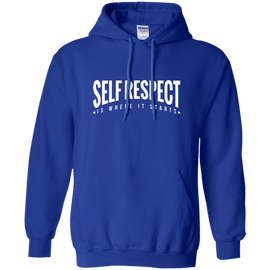 Self Respect is Where it Starts Unisex Hoodie