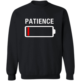 No Patience Unisex Crewneck Sweatshirt