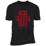 The Crack Era T-Shirt (men's) Black/Red