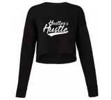 Hustler's Hustle Women's Cropped Sweatshirt