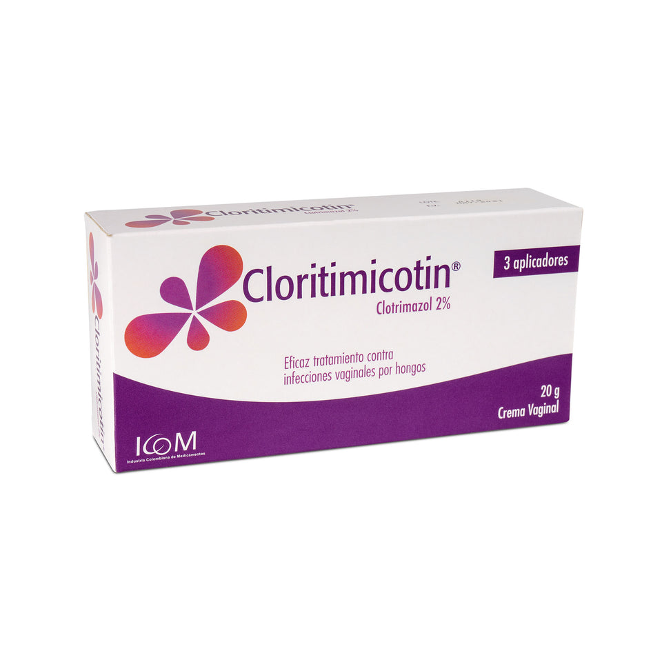 Cloritimicotin Crema Vaginal 2% 20g