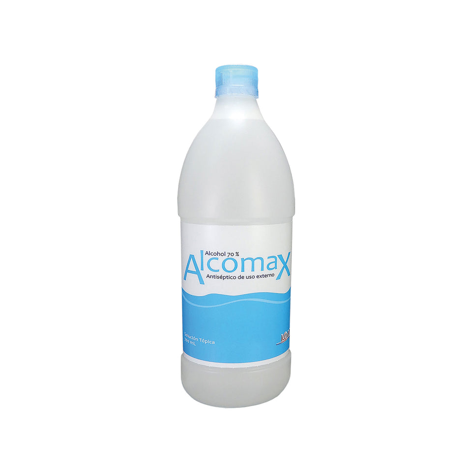 Alcohol Antiséptico 70% Botella de 700 mL Alcomax