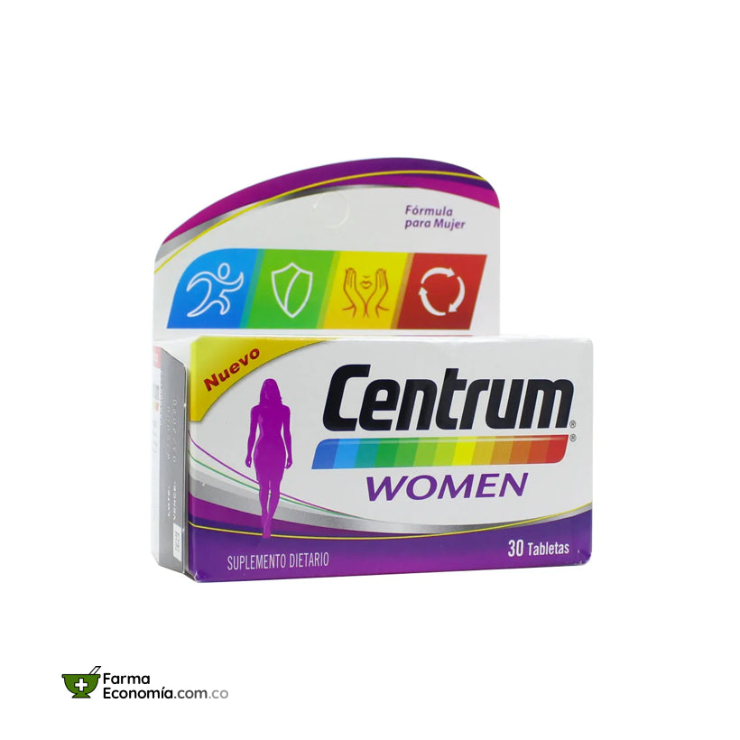 Centrum Women x 30 Tabletas Pfizer