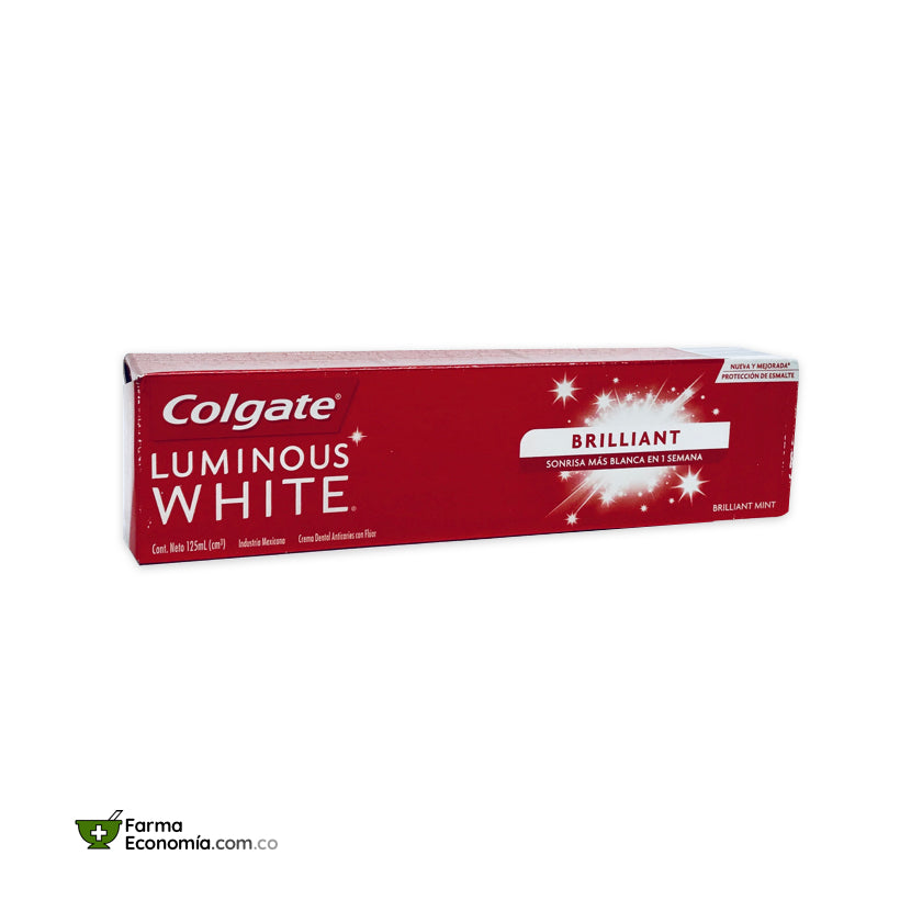 Crema Dental Colgate Luminous White 125 mL