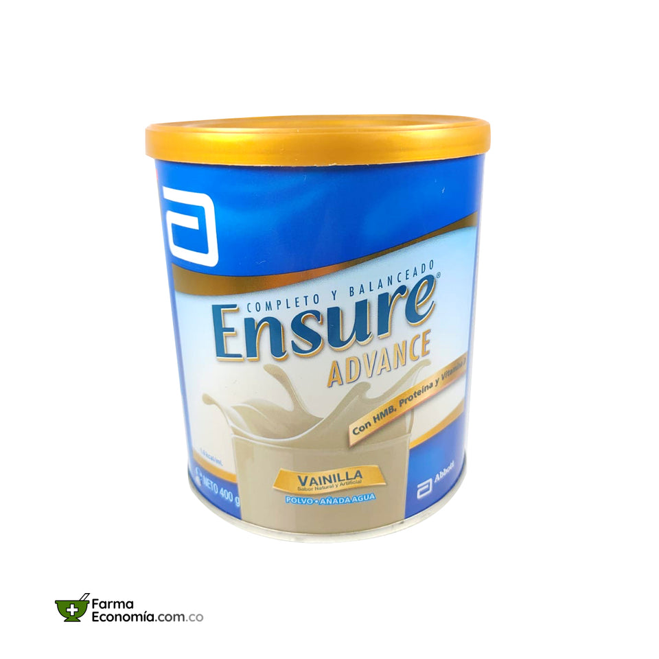 Ensure Advance 400g Polvo Vainilla (Sin Lactosa)