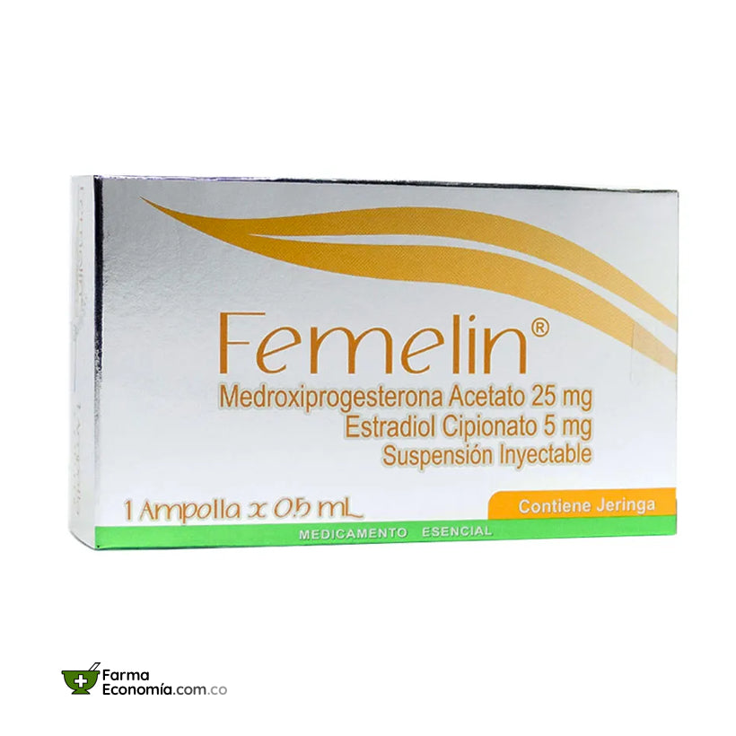 Femelin Inyectable 0.5 mL 1 Ampolla