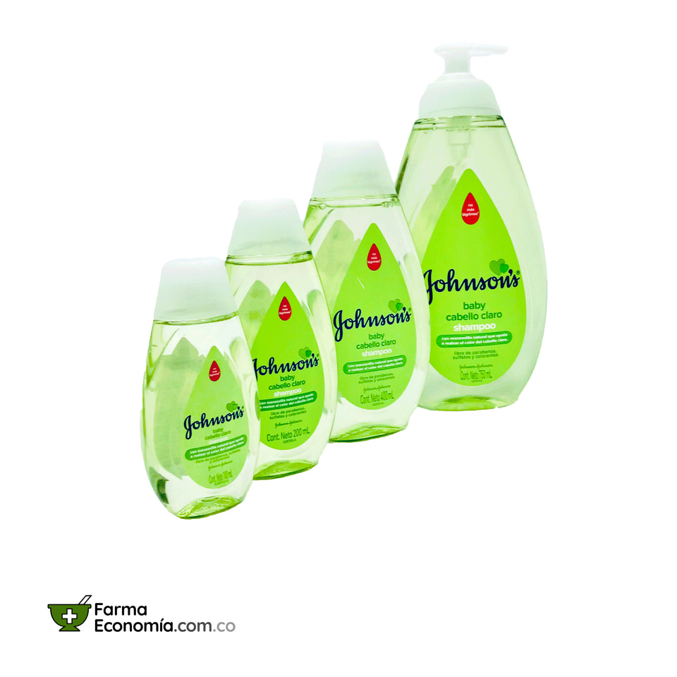 Shampoo Johnson's Baby con Manzanilla. 100 / 200 / 400 / 750 mL