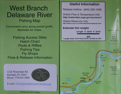 Delaware River System Individual Fishing Maps