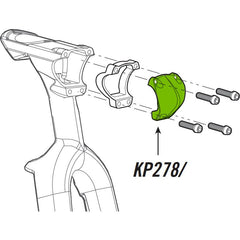Cannondale Slice Stem Face Plate KP278